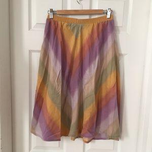 Vintage Rainbow Sherbert Skirt